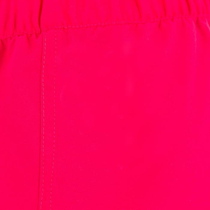 Boardshort fille court avec ceinture élastiquée ROSE