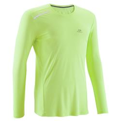 SUN PROTECT MEN'S RUNNING T-SHIRT YELLOW