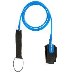 7 mm 衝浪板腳繩 6' (183 cm) - 藍色