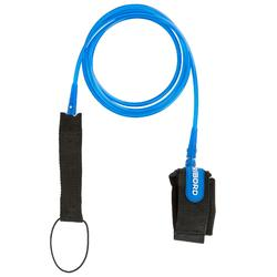 7 mm Surfboard Leash 6' (183 cm) - Blue