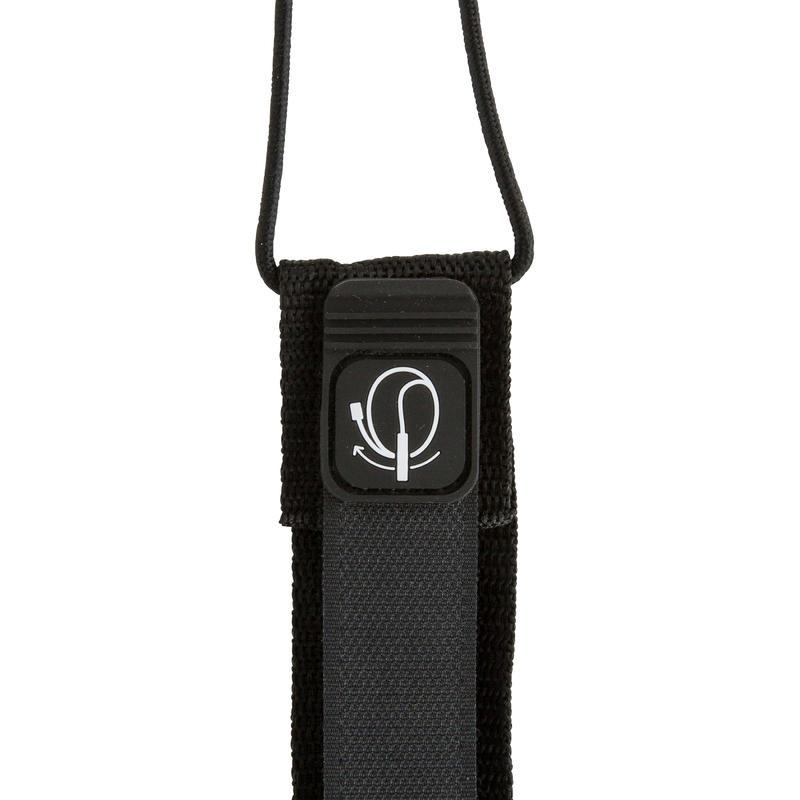 7 mm Diameter Surfboard Leash 8' (240 cm) - Black