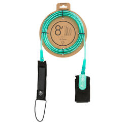 Leash surf 8' (240 cm) diamètre 7 mm vert