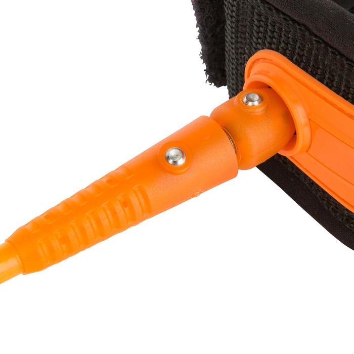 Leash surf 7' (210 cm ) diamètre 7 mm orange.