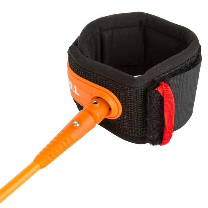 Leash surf 7' (210 cm ) diamètre 7 mm orange. - 1144970