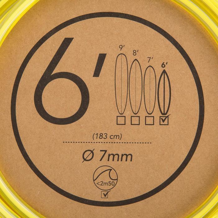 Leash surf  6' (183 cm )  diamètre 7mm - 1144972