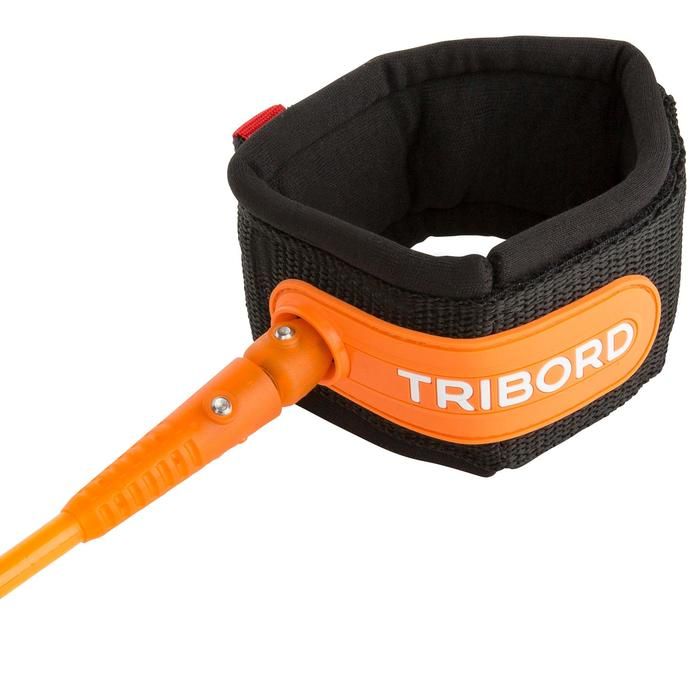 Leash surf 7' (210 cm ) diamètre 7 mm orange. - 1144976