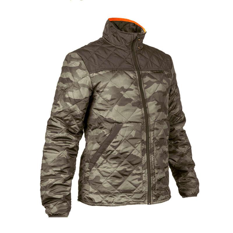 Толстовки и жилетки Охота - Стеганая куртка 100  SOLOGNAC - Камуфляжная одежда