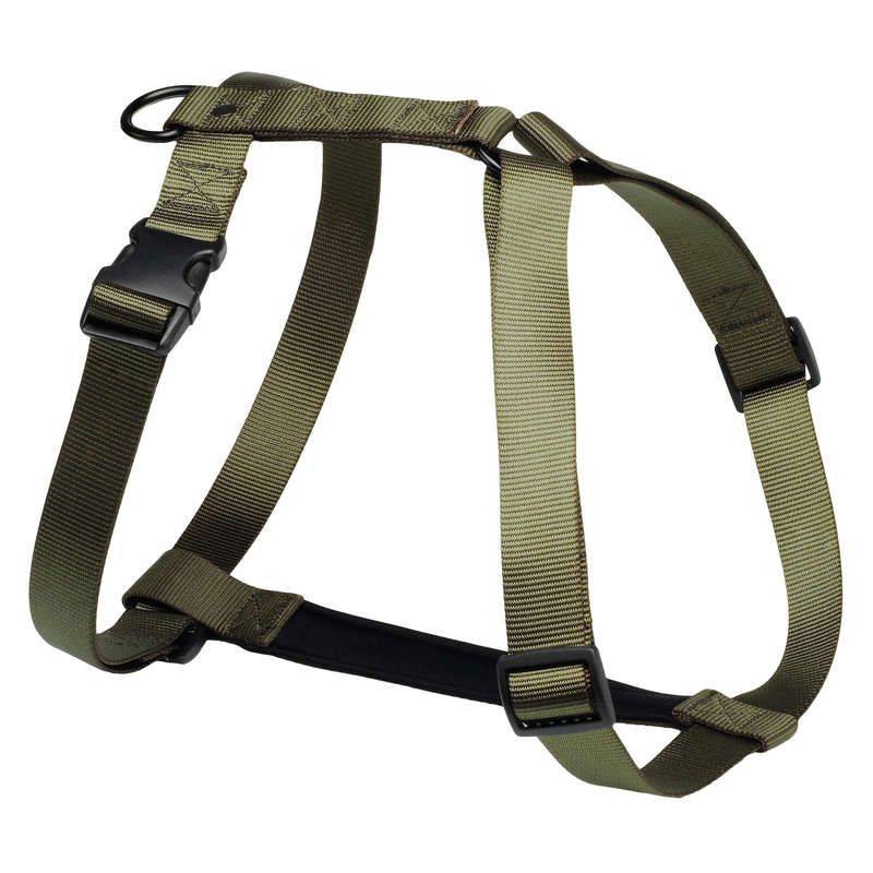 DOG ACCESSORIES Shooting and Hunting - Dog harness - khaki SOLOGNAC - Working Dogs