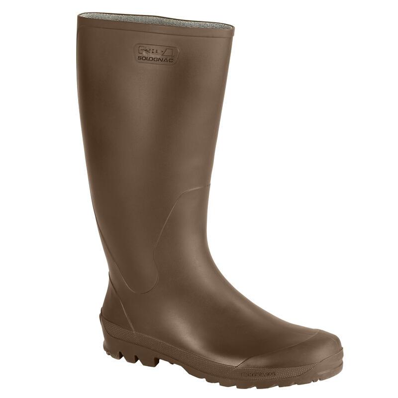 GLENARM 100 HUNTING RAIN BOOTS - BROWN