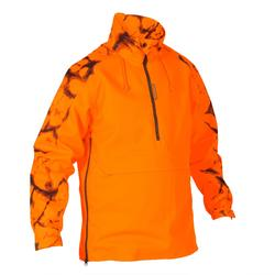 Jagd-Regenjacke Schlupfjacke Supertrack orange