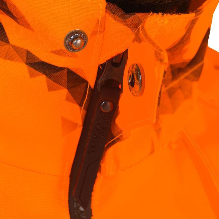 Jagd-Regenjacke Schlupfjacke Supertrack orange