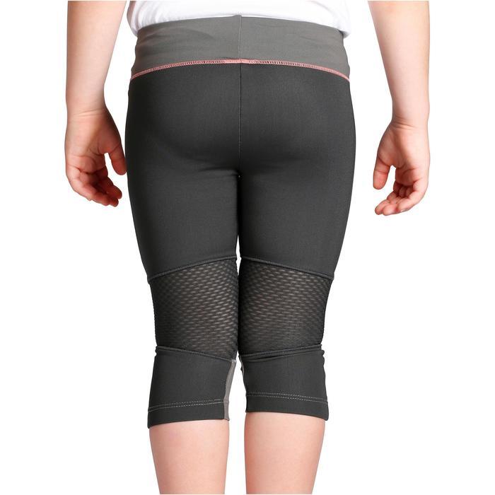 Wandel legging voor kinderen Hike 500 grijs meisjes