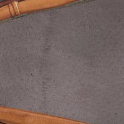 Segelschuhe CR500 Leder Herren blau/braun