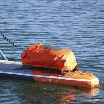 SAC A DOS STAND UP PADDLE RANDONNEE 500 | CONVERTIBLE 100/40L ETANCHE ORANGE