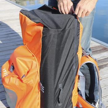 Rugzak voor touring supboard 500 / omvormbaar 100/40 l waterdicht oranje