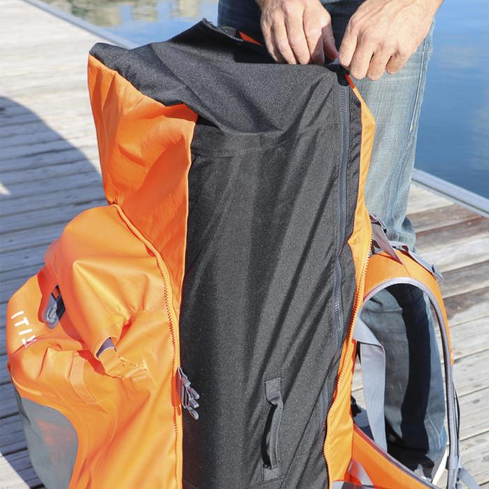 SUP-Rucksack 500 Stand Up Paddle Touring 100 l/40 l wasserdicht orange