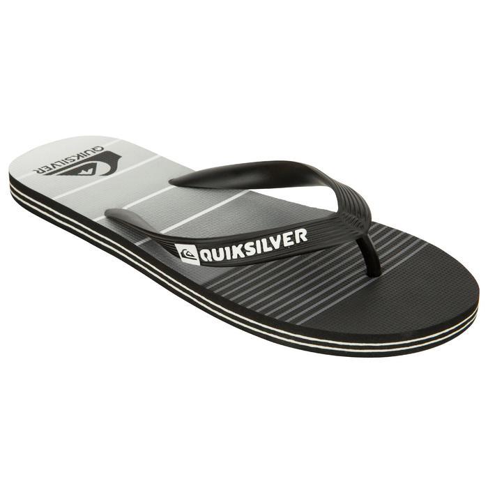 Tongs Quiksilver Division Noir gris - 1145350