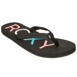 Slippers Roxy Vista zwart