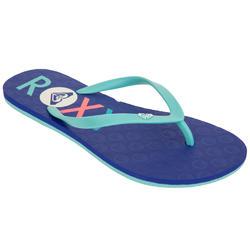 Slippers Roxy Sea marineblauw