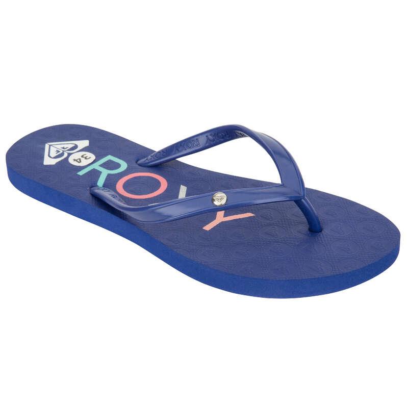 Gyerek papucs Strand, szörf, sárkány - Roxy SANDY kék női papucs ROXY - Bikini, boardshort, papucs