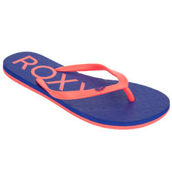 Teenslippers Roxy LET SEA Blue pink