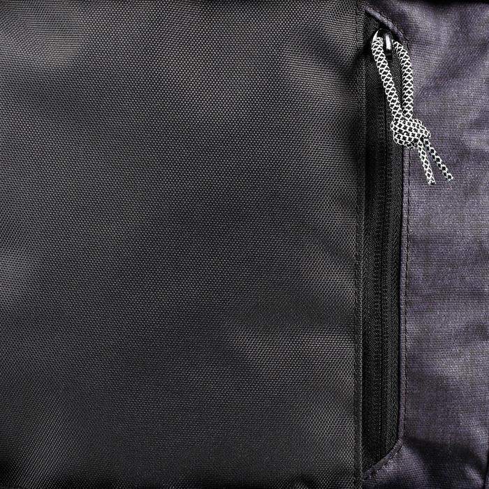 Sac de skate MID noir chiné 23L - 1145790