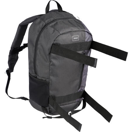 23L Skateboarding Backpack Mid - Black