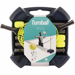 "Pack de Speedball (1 Mât, 2 raquettes et 1 Balle) ""TURNBALL STRONG"""