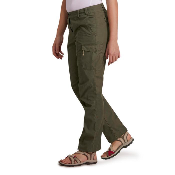 Pantalon TRAVEL 100 femme - 1146225