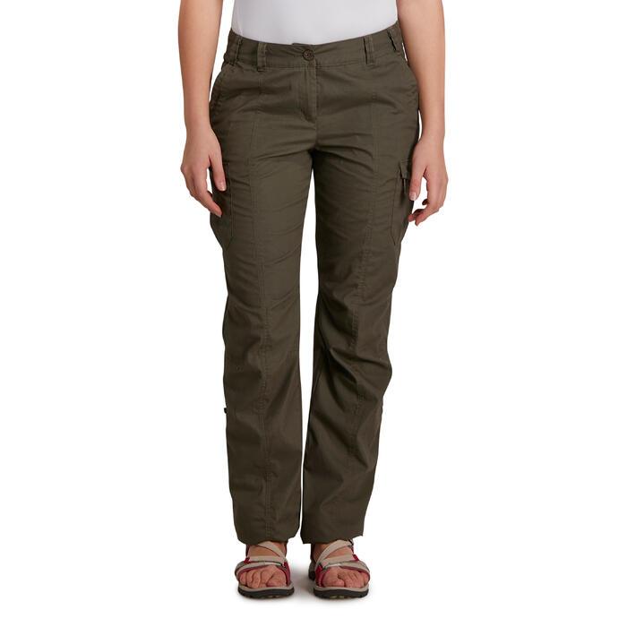 Pantalon TRAVEL 100 femme - 1146340