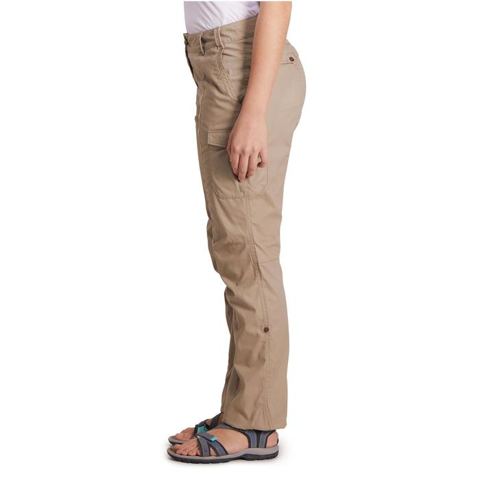 Pantalon TRAVEL 100 femme - 1146429