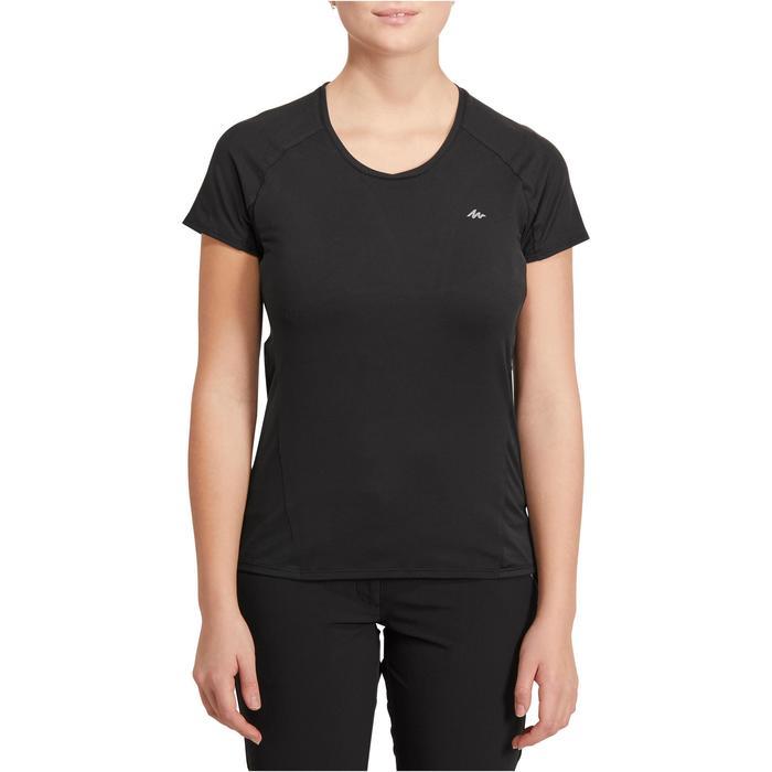 Tee-Shirt manches courtes randonnée Techfresh 100 femme - 1146473