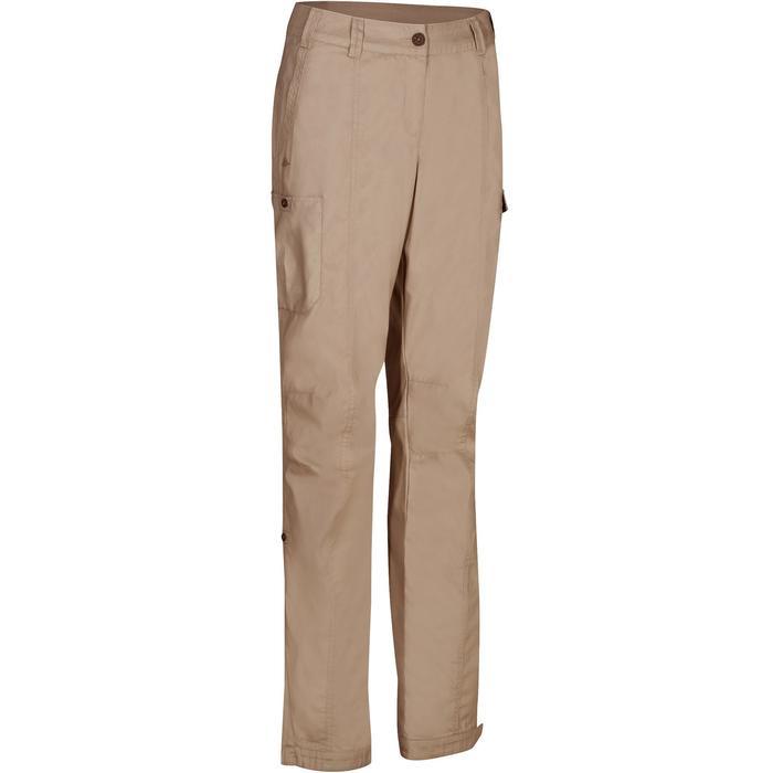 Pantalon TRAVEL 100 femme - 1146476