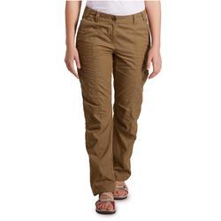 Pantalón TRAVEL 100 mujer marrón