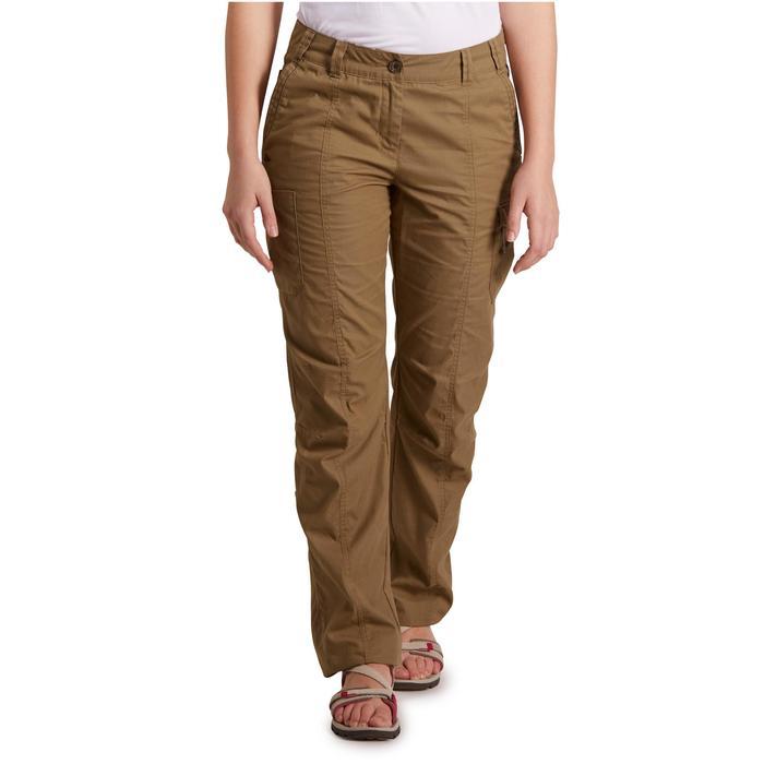 Pantalon TRAVEL 100 femme - 1146536