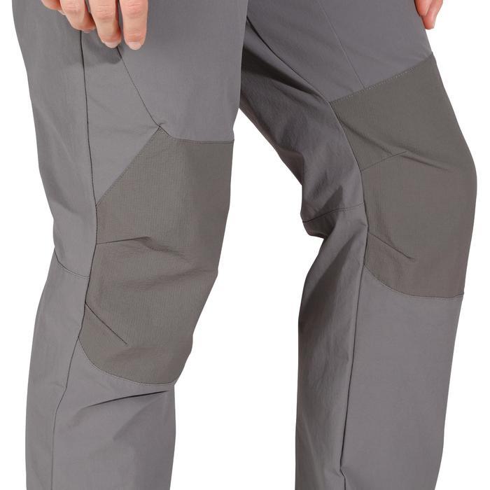 Pantalón de senderismo en montaña MH500 Mujer Gris