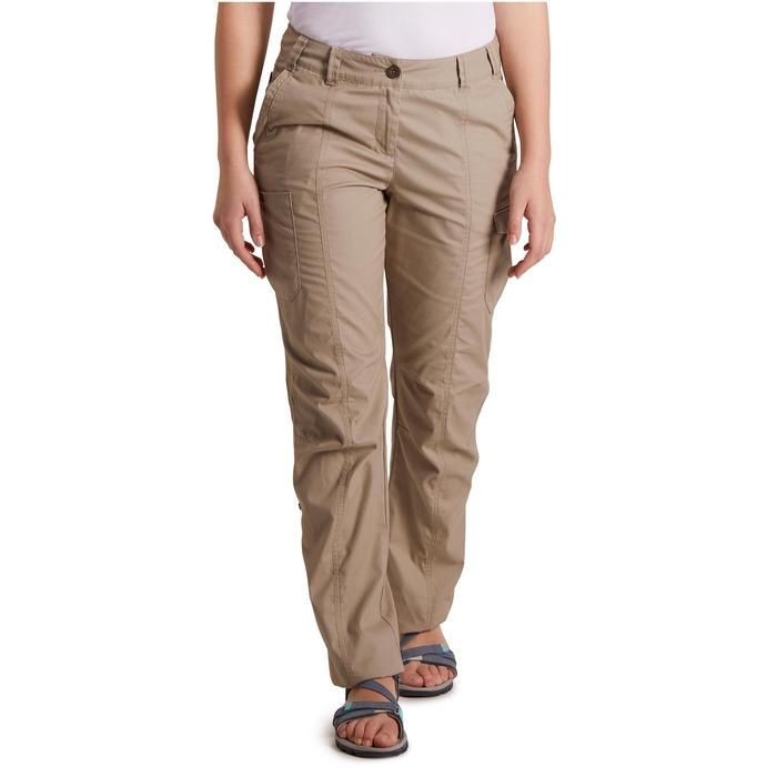 Pantalon TRAVEL 100 femme - 1146556