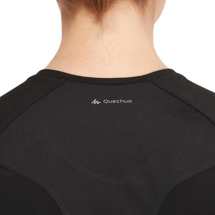 Tee-Shirt manches courtes randonnée Techfresh 100 femme - 1146565