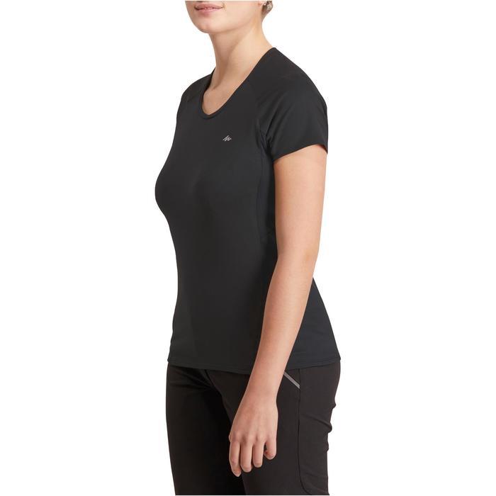 Tee-Shirt manches courtes randonnée Techfresh 100 femme - 1146608