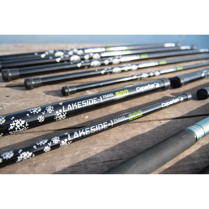Canne de 6m pour la pêche au coup télescopique LAKESIDE-1 TRAVEL 600