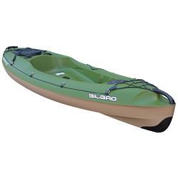 Hengelkajak Bilbao Fishing groen 1 persoon + RUGSTEUN
