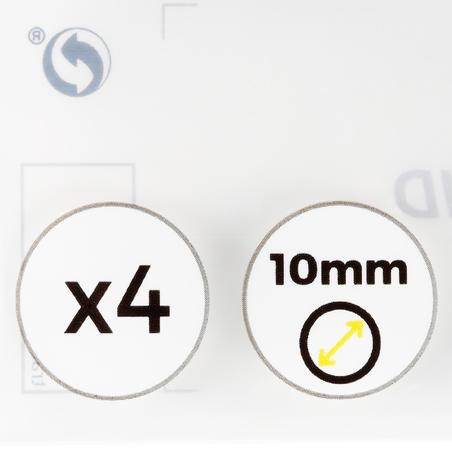 Lot de 4 procédés de 10 mm pour queue de billard snooker/ anglais
