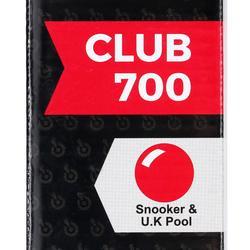 Snookerkeu 2 piece met sluiting op 3/4 Club 700