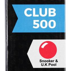 Club 500 Snooker/UK Cue in 2 Parts, 1/2 Jointed