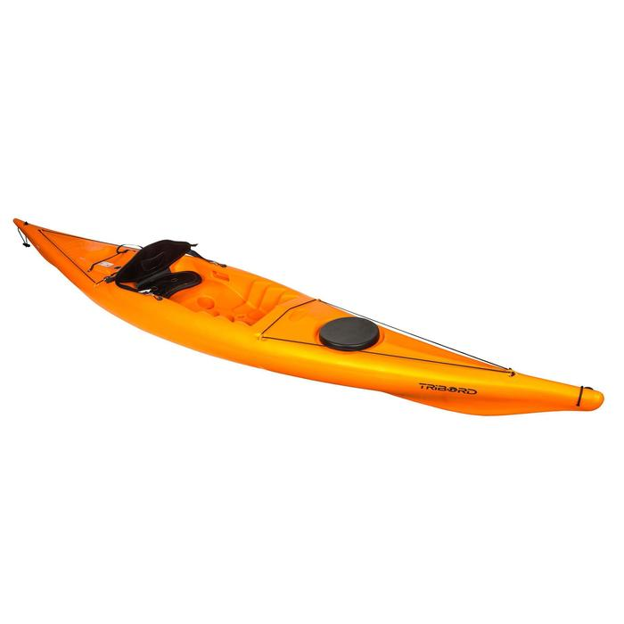 CANOE KAYAK RIGIDE RK500-1 PLACE RANDONNÉE Orange - 1146837