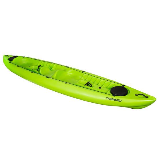 Toerkajak RK500-2 groen, 2 volwassenen en 1 kind - 1146838