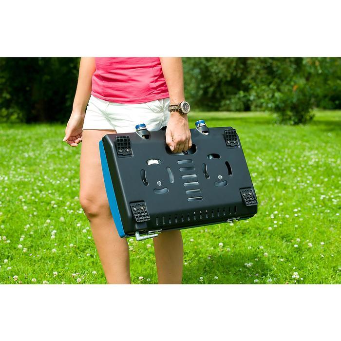 Hornillo con Kit Regulador Presión Campamento Itinerante 200S