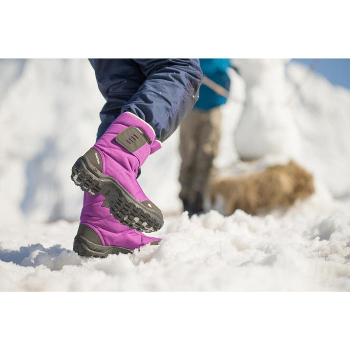 Bottes de randonnée neige junior SH100 x-warm - 114718