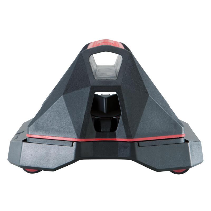 Cross Training Versatile Handle Push-Up Wheels - Red/Black