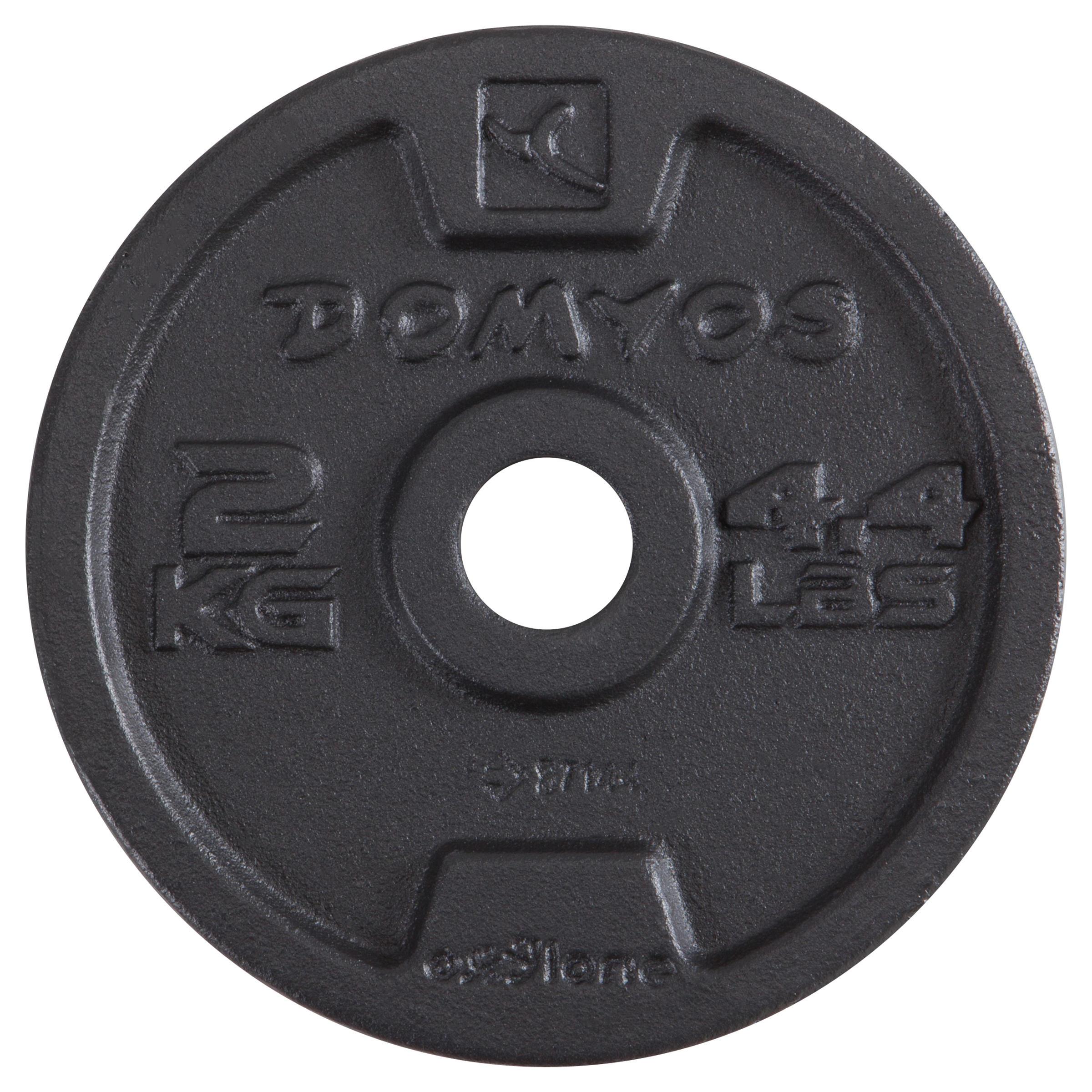 Ensemble haltères musculation 10 kg